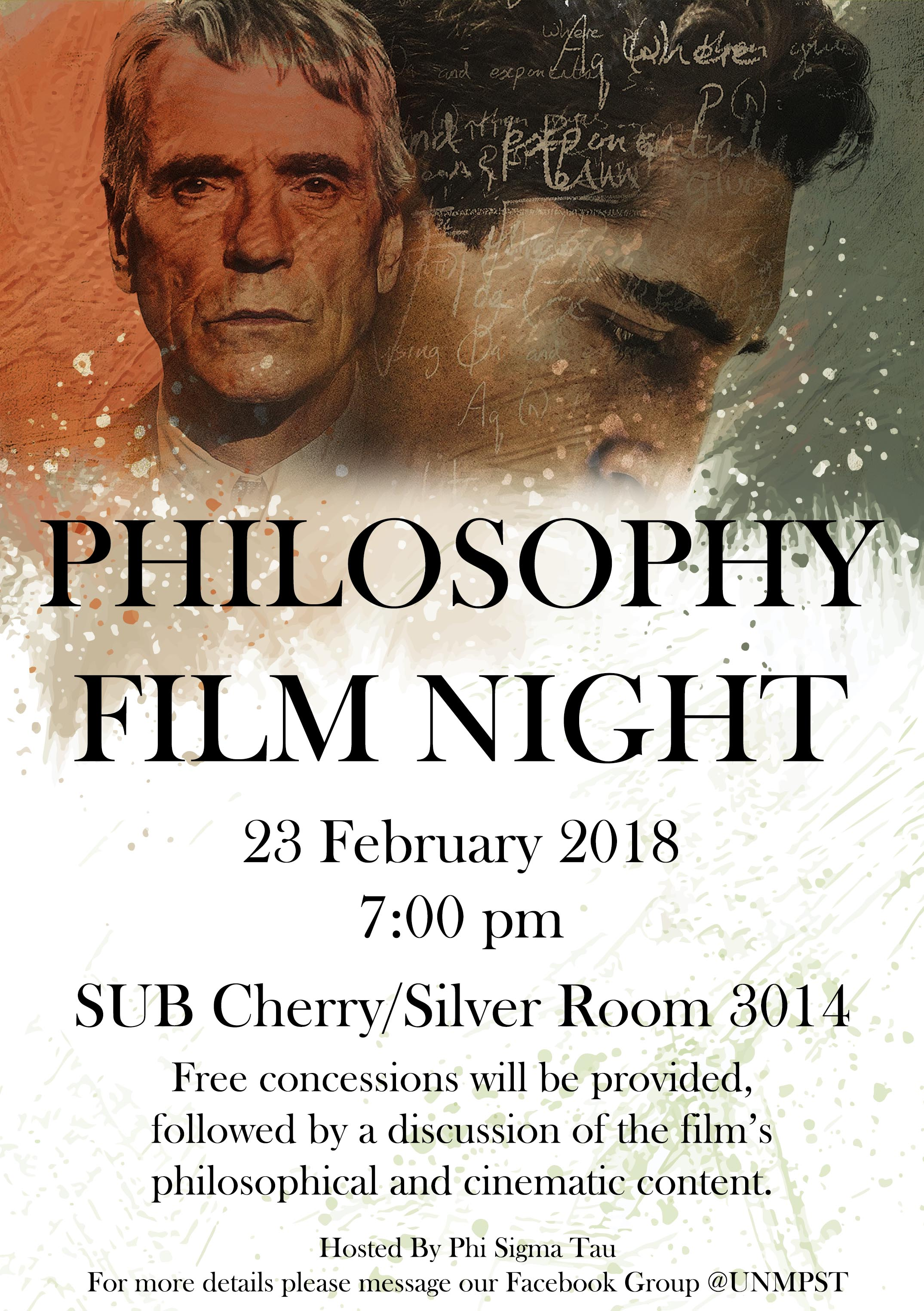Philosophy Film Night Flyer