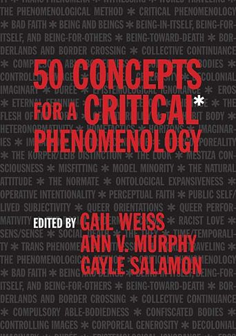Cover of 50 Concepts for a Critical Phenomenology