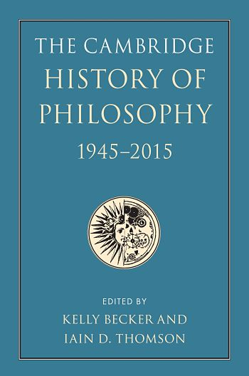 Cover of Cambridge History of Philosophy, 1945-2015